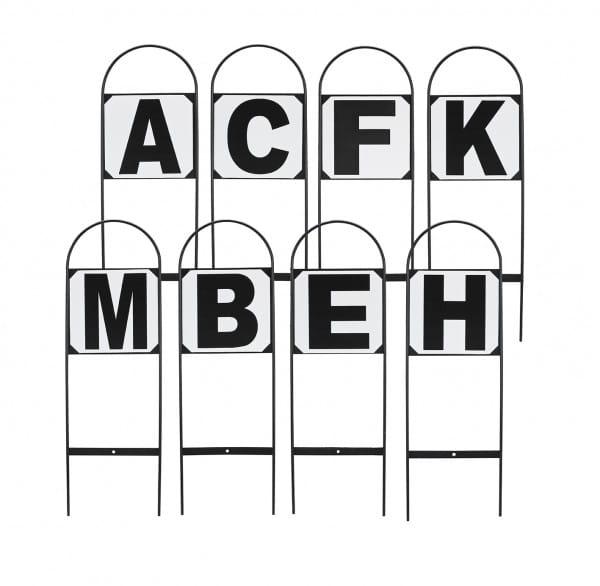 Dressurbuchstaben STECKBAR © BUSSE GmbH