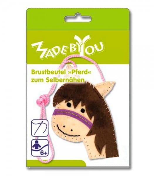 Zum Selbernähen: Brustbeutel Pferdekopf © Waldhausen GmbH