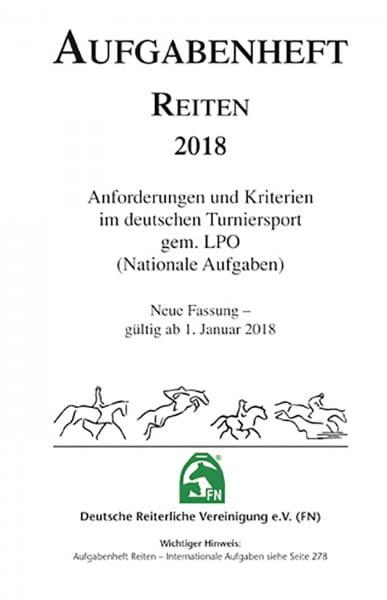 Aufgabenheft 2018 - Reiten - Inhalt (Nat. Aufg.) © BUSSE GmbH