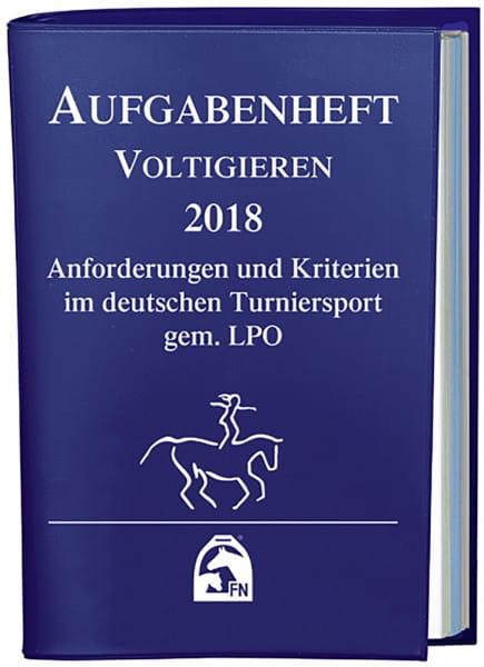 Aufgabenheft 2018 - Voltigieren (Nat. Aufg.) © BUSSE GmbH