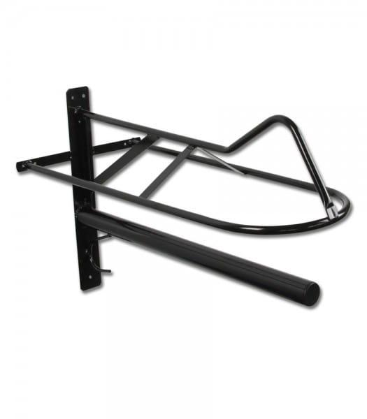 Sattelhalter mit Sattelunterlagenstange, Metall © Waldhausen GmbH