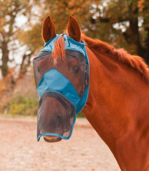 Fliegenmaske Premium ohne Ohren- mit Nasenschutz © Waldhausen GmbH