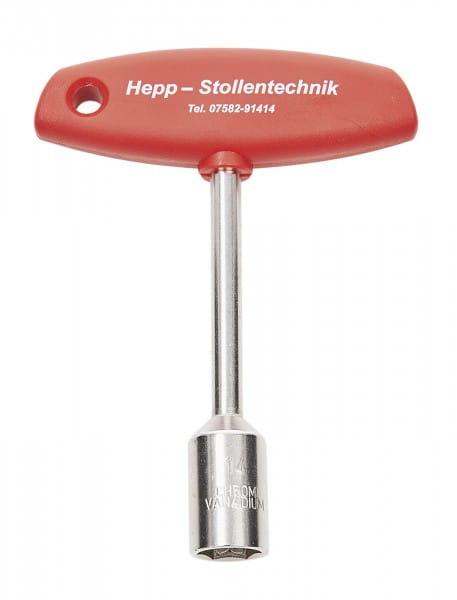 Steckschlüssel 6-Kant SW 14 mm, Hepp © BUSSE GmbH