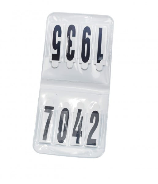 Startnummern OVAL, Sicherheitsnadeln © BUSSE GmbH