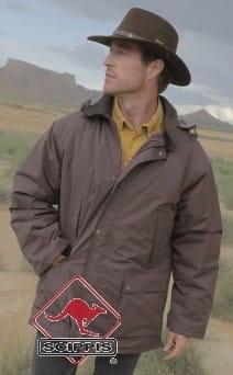 Fremantle Jacket brown