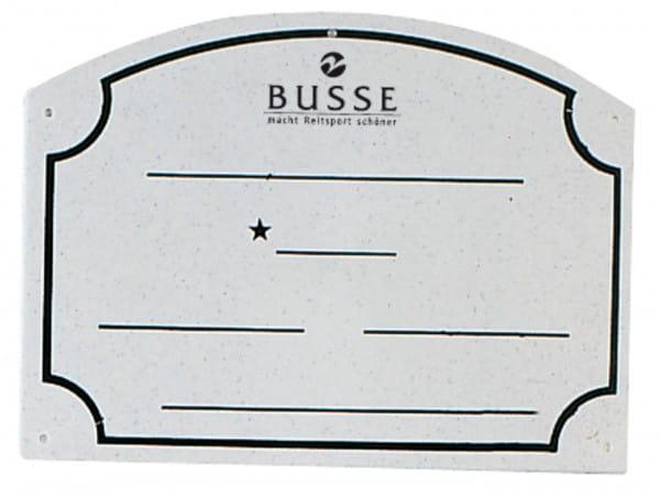 Boxenschild PVC © BUSSE GmbH